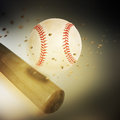 Activity sport baseball bat Royalty Free Stock Photo