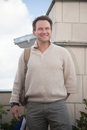 Actor  Christian Slater. Stock Photo