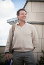 Actor  Christian Slater. Royalty Free Stock Image