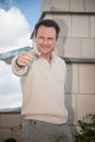 Actor  Christian Slater. Royalty Free Stock Photo