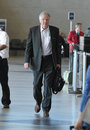 Actor John Voight is seen at LAX Stock Photography
