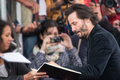 Actor Keanu Reeves attends the Knock Knock Premiere during the 41st Deauville American Film Festival Royalty Free Stock Photo