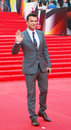 Actor sergey astakhov at moscow film festival xxxv international red carpet closing ceremony taken on in russia Stock Photos