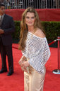 Actress brooke shields at the th annual espy sports awards in hollywood jul paul smith featureflash Royalty Free Stock Photography