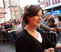 Actress Marcia Gay Harden on Broadway Stock Images