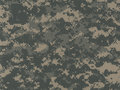 ACU Digital Camouflage Pattern Royalty Free Stock Photo