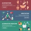 Acupuncture Banner Set