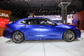 Acura TLX shown at the New York International Auto Show 2017