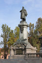 Adam mickiewicz monument in warsaw poland circa october bernard was a polish national poet dramatist essayist Royalty Free Stock Photo