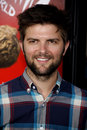 Adam scott at the los angeles premiere of pilgrim vs the world held at the grauman s chinese theater in hollywood usa on Royalty Free Stock Image