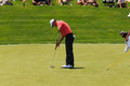 Adam scott at the memorial tournament in dublin ohio usa Royalty Free Stock Photo