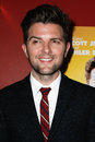 Adam scott new york oct actor attends the premiere of a c o d at the landmark sunshine theater on october in new york city Stock Photos