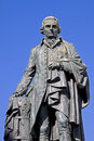 Adam Smith, Royal Mile, Edinburgh, Scotland Royalty Free Stock Photo