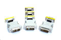 Adapter VGA to DVI Royalty Free Stock Photo