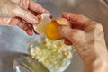 Add chicken egg Royalty Free Stock Photo