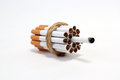 Addict cigarette one smoke Stock Photos