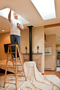 Adding Interior Skylights Royalty Free Stock Photo