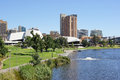 Adelaide australia panorama of capital of south Royalty Free Stock Image