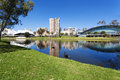 Adelaide city Royalty Free Stock Photo