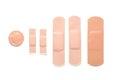 Adhesive bandage Royalty Free Stock Photo