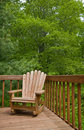 Adirondack Chair Stock Photography