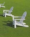 Adirondack Chairs Stock Images