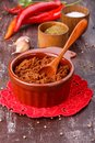 Adjika or ajika Hot spicy flavored sauce