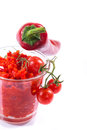 Adjika fresh grated red pepper and chili Royalty Free Stock Photo