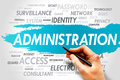 Administration Royalty Free Stock Photo