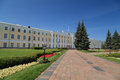 Administrative building in the Nizhny Novgorod. Royalty Free Stock Image