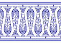 Admirable blue pattern Stock Image
