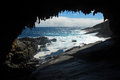 Admirals arch kangaroo island south australia australia Royalty Free Stock Photography