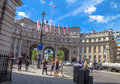 Admiralty Arch in London. UK Royalty Free Stock Photo