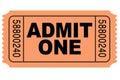Priznať jeden film vstupenka