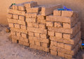 Adobe bricks Royalty Free Stock Image
