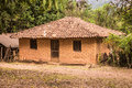 Adobe House in Brazil Royalty Free Stock Photo