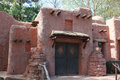 Adobe house pueblo red classic Royalty Free Stock Photo