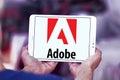 Adobe logo Royalty Free Stock Photo