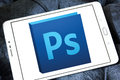 Adobe photoshop logo Royalty Free Stock Photo