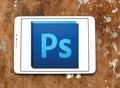 Adobe photoshop logo Royalty Free Stock Photo