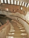 Adobe Staircase in Grand Canyon Desert View Watchtower Royalty Free Stock Photo