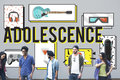 Adolescence Young Adult Youth Culture Lifestyle Concept Royalty Free Stock Photo