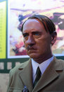 Adolf hitler s wax figure war maniacs Stock Image