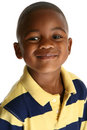 Adorable African American Boy Stock Photo