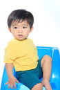 Adorable Asian kid Royalty Free Stock Images