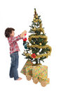 Adorable boy in Christmas Royalty Free Stock Photo