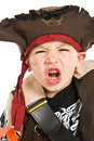 Adorable boy in pirate costume Royalty Free Stock Images