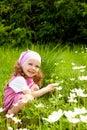Adorable cheerful girl