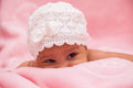 Adorable little african american baby girl black people Royalty Free Stock Photography