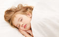 Adorable little girl sleep Royalty Free Stock Photography